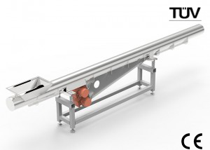 Tube vibration conveyor